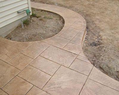 Nutmeg, Beige Concrete Patios Concrete Styles Inc East Greenville, PA