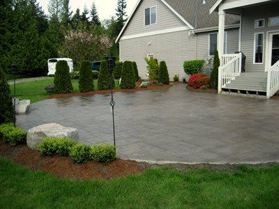 Concrete Patios Seattle Surfaces Kirkland, WA