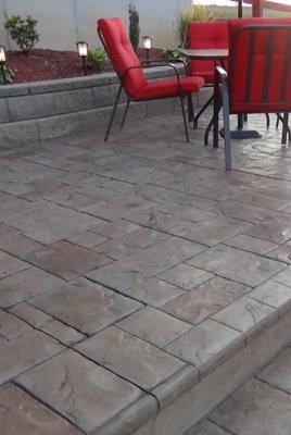 Concrete Patios Tri-State Bomanite Cincinnati, OH