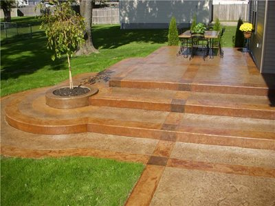 Concrete Patios Victor Merlo Construction, Inc. Cheektowaga, NY