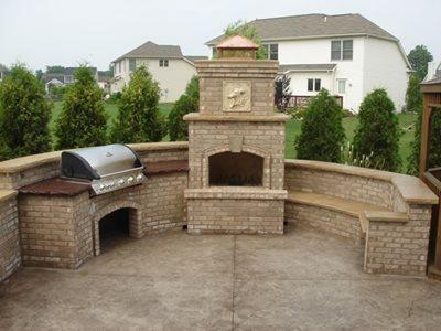 Concrete Patios Woodville Oh Photo Gallery Ohio