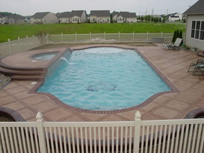 Concrete Pool Decks Orrville OH Photo Gallery Ohio