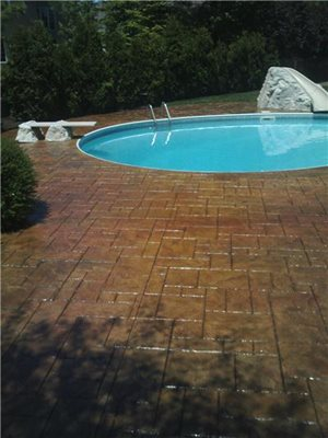 Concrete Pool Decks Cleveland Concrete Stamping Cleveland, OH