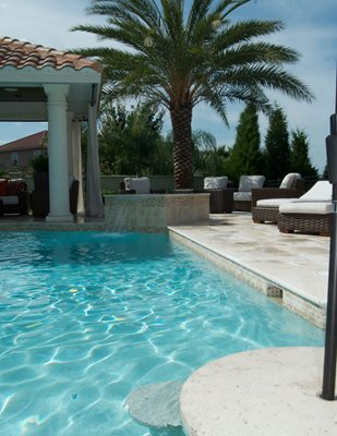 Concrete Pool Decks Concrete -N- Counters Lutz, FL
