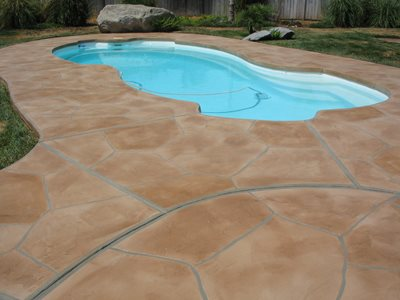 Concrete pool decks ashland va photo gallery texas for Design of swimming pool concrete