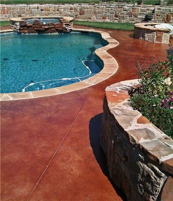 Concrete Pool Decks Concrete Studio Dallas, TX