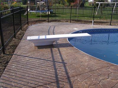 Concrete Pool Decks Creative Concrete & Landscape Rockford, IL