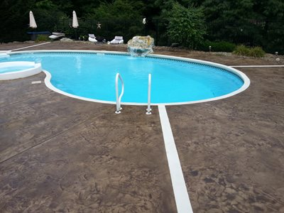 Concrete Pool Decks Evolution Concrete Newton Falls, OH