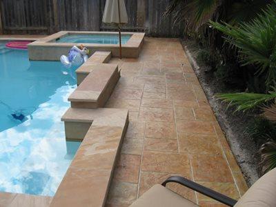 concrete pool decks houston - texas concrete