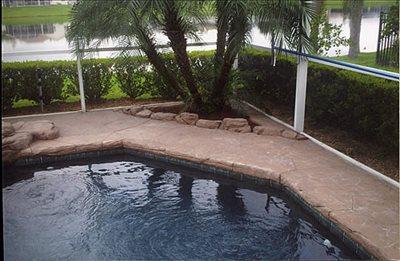 concrete pool decks - lake mary, fl - photo gallery - florida concrete