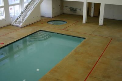 Pool Deck Concrete Pool Decks Maverick Specialty Contracting Seattle, WA
