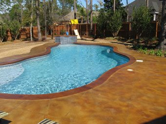pool deck concrete pool decks mcaleer concrete design spanish fort al