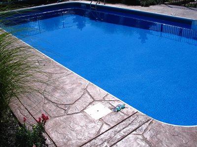 Sandstone Concrete Pool Decks Hudecek Cement Inc North Royalton, OH
