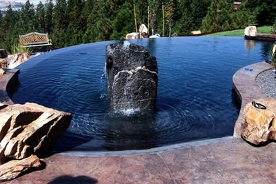Textured Concrete Concrete Pool Decks Meidling Concrete Spokane Valley, WA