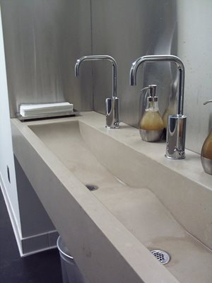 Commercial Sink Concrete Sinks Oso Industries New York, NY
