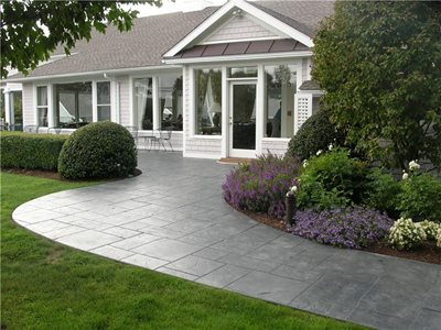 Concrete walkways brookfield ct photo gallery for Creative home designs llc