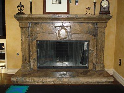 Fireplace Surrounds Santee CA Photo Gallery Washington Concrete