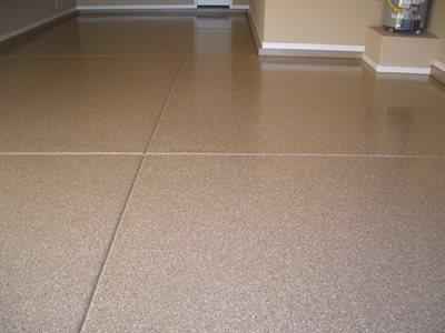 Speckled Epoxy Garage Floors