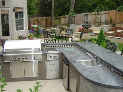 Outdoor on Outdoor Kitchenoutdoor Kitchensgranite Bay Landscape Incgranite Bay