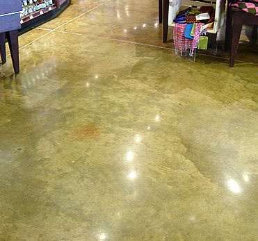 Stained concrete floors celebrity image gallery for Concrete flooring service