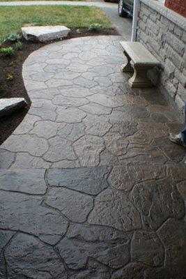 stamped concrete keswick ontario photo gallery ohio