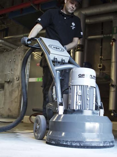 Greyline Planetary Concrete Floor Grinders Site HTC Professional Floor Systems Knoxville, TN