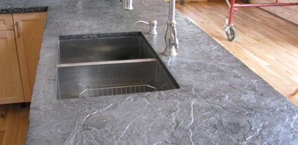 concrete countertops cliffe concrete lucknow ontario - Colored Concrete Countertops