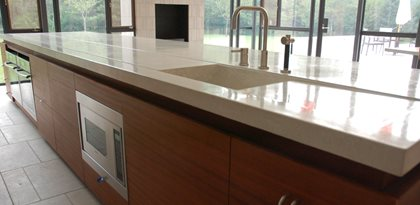 Countertop Finish Options : Concrete Countertop Finish Options