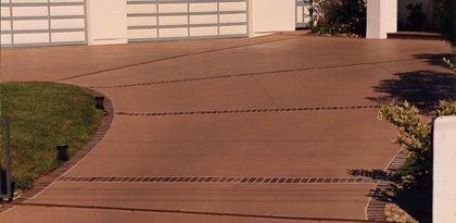 Concrete Driveways Davis Colors Los Angeles, CA