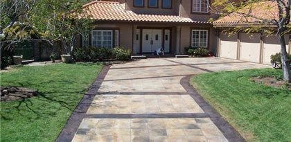 Concrete Driveways The Green Scene Chatsworth, CA