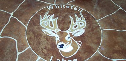 Stone, Deer Concrete Floors Concrete Wonders LLC Pensacola, FL