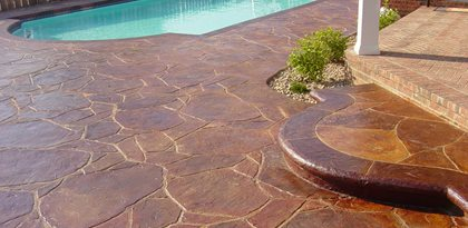 Outdoor Stained Concrete Sealer Concrete Stain And Sealer