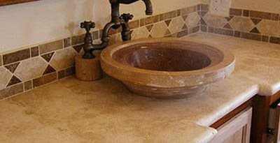 Ribbed, Bowl Concrete Sinks Concrete Craftsmen Santee, CA
