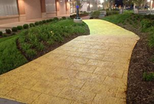 concrete walkways musselman hall kansas city - Sidewalk Design Ideas