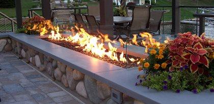 Concrete Fire Pit Cap Outdoor Fire Pits Hard Topix Jenison, MI