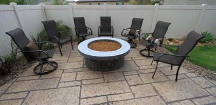 Concrete Patio Colors - Patio Design Ideas, Styles, Patterns and ...
