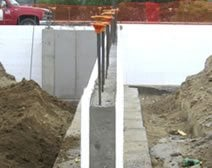 Insulated concrete forms the concrete network for Foam concrete forms cost