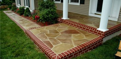 site custom concrete solutions llc west hartford ct - Sidewalk Design Ideas