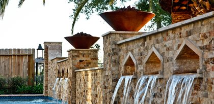 Custom Fire Bowls C.S.W. Creations Katy, TX