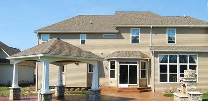 Cement Backyard Ideas backyard patio concrete square patio design Site Hudecek Cement Inc North Royalton Oh