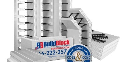 Insulated Concrete Forms Site BuildBlock Building Systems, LLC Oklahoma City, OK