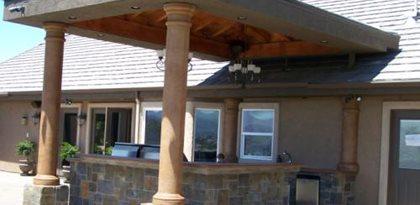 Outdoor Living Room Design Ideas The Concrete Network