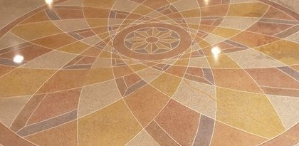 Polished Concrete, Dye Design Site Decorative Concrete Institute Temple, GA