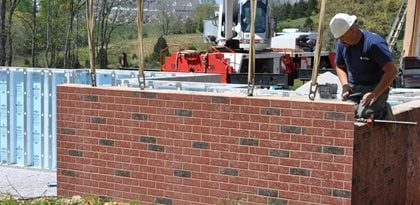 Precast Walls, Stenciled Walls Site Superior Walls of America New Holland, PA