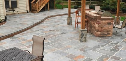 Concrete Patio Colors Patio Design Ideas Styles