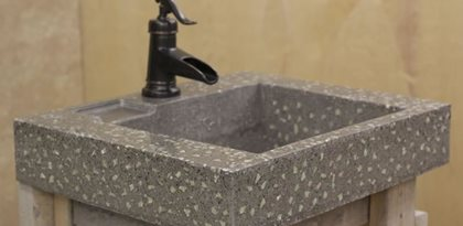 Sink, Concrete, Glow In The Dark Site Ambient Glow Technology Pickering, ...