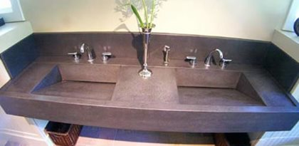 Integral Concrete Sinks The Concrete Network