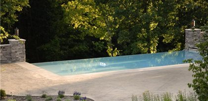 Concrete Pool Decks Nobel Concrete Jenison, MI