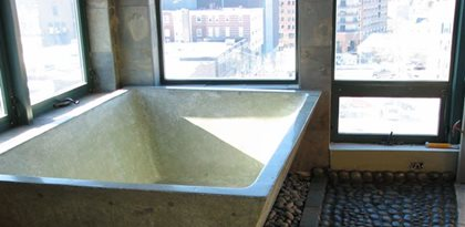 Concrete Sinks Stonecraft Inc. Buxton, ME