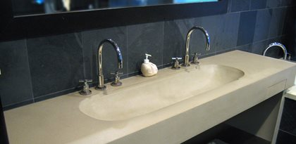 Bathroom Sinks Nj bathroom vanity - concrete designs for bathroom vanities, counters